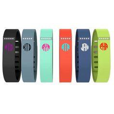 Monogrammed Fitbit