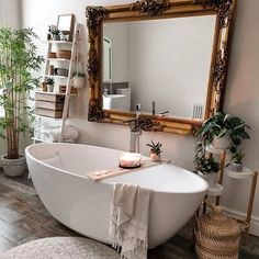 Modern Bohemian Bedrooms & Home Interior Decor Ideas: With the passage of time the demand and trend of the bohemian home decoration has been becoming the main talk of the town. Home Design, Design Ideas, Design Styles, Design Concepts, Design Trends, Deep Bathtub, Bathtub Shower, Shower Rooms, Bathtub Paint