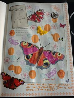Art journal page by Kitty