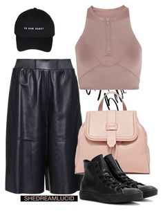 """""""Pizza?"""" by gigi-lucid ❤ liked on Polyvore featuring MaxMara, Converse and adidas"""