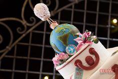 Wedding cake tema viaggi Zucchero e Vaniglia