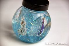 A Disney #FrozenFun play day complete with FROZEN DIY snow globes from Adventures in All Things Food & Family.  #shop #cbias