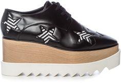 Shop Now - >  https://api.shopstyle.com/action/apiVisitRetailer?id=609765803&pid=2254&pid=uid6996-25233114-59 STELLA MCCARTNEY Elyse lace-up platform shoes  ...