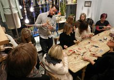 mr. finch textile art | Mr Finch and Selvedge magazine at Anthropologie King's Road | The ...