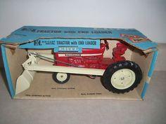 international tractor 544 | Used INTERNATIONAL 544 TRACTOR w/LOADER NIB BLUE BOX ERTL Vintage Farm ...