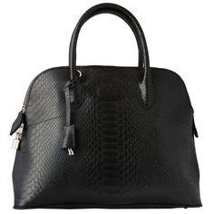 Luxury Snake Skin embossed Leather bolide Classic ToteBag $70.99  http://www.amazon.com/gp/product/B00C5VYEWW