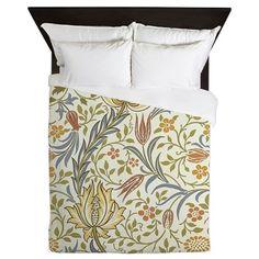 William Morris Floral Queen Duvet on CafePress.com