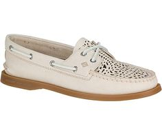 The Villa A/O boat shoe from Sperry was designed with Moroccan-inspired details and colors.