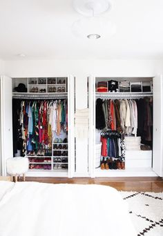 3 Amazing Closet Makeovers: See the Before and After Pictures via @WhoWhatWear