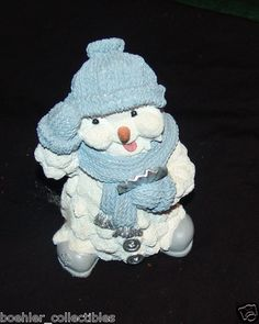 """Snow Buddies Penguin Figurine Uncle Melty 6"""" Tall"""