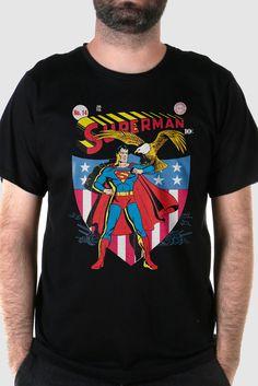 Eu recomendo Camiseta Masculina Superman HQ Nº14 via Myreks