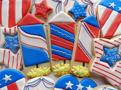 Flour Box Bakery — Red, White and Blue