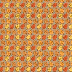 Autumn Leaves Pattern Background Wallpaper Texture