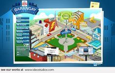 web design by ideo studios Client: Bayad Center Managed It Services, Software Support, Design Development, It Works, Web Design, Business, Studios, Management, Design Web