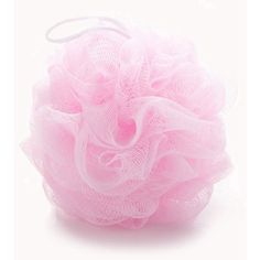 Forever21 Classic Bath Sponge ($1.90) ❤ liked on Polyvore featuring pink