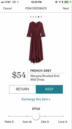 My wedding color is burgundy/maroon/wine red. this would be cute to wear to my bridal shower!