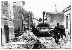 Just east of Berlin, 1945.