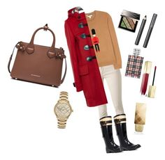 """Blueberry-casual"" by emmatraynor on Polyvore featuring Burberry"