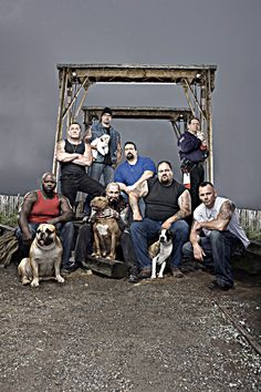 The cast from Rescue Ink Unleashed.