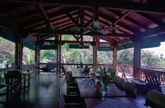 Playa Nicuesa Lodge Restaurant