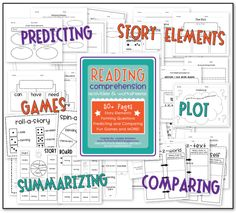 Reading Comprehension Worksheets - These are generic, so they will work for any book! (K-2)
