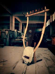 The Lyre of Hermes 9string Special Edition! - Ancient Greek Lyre (Chelys) - Top Quality HandCrafted Musical Instrument