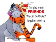 Tigger and Eyeore - True Friends