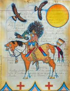 Black Pinto Horse Fine Arts - New Works - Monte Yellow Bird Native American Decor, Native American Paintings, American Indian Art, Indian Crafts, Southwest Art, Art For Art Sake, Native Art, Horse Art, Tribal Art