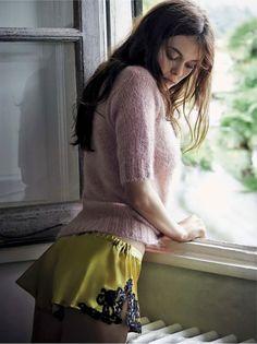 Elizaveta Adamenko By Pamela Hanson For Vanity Fair Italia 27th August 2014