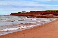 Red sand beaches, Prince Edward Island