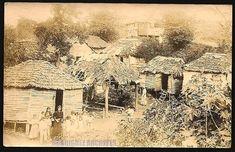 PUERTO RICO - Country Homes, Grupo de Bohios -   Ponce NOV 27, 1913