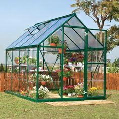 Palram Build & Grow 6 ft. x 8 ft. Hybrid Greenhouse