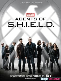 Agents of SHIELD - Season 3 - Promotional poster
