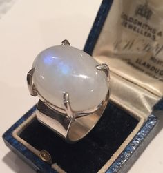 A personal favourite from my Etsy shop https://www.etsy.com/uk/listing/256439509/vintage-silver-moonstone-ringlovely
