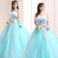 Image result for vestidos de xv coreanos