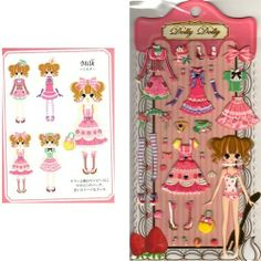Q-Lia Dolly Dolly Colorforms Stickers with Jewels: Milk