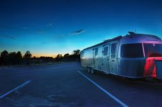 When you call an Airstream home - there are endless possibilities to what you'll find right outside your front door. Photo by Asher Krell