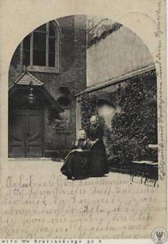 Krasińskiego 30b (Höhere Mädchen-Schule und Evangelisches Lehrerinnen-Seminar), Wrocław - 1920 rok, stare zdjęcia