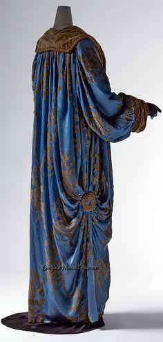 Jeanne Paquin, gran modista y creadora Jeanne Paquin, 1900s Fashion, Edwardian Fashion, Vintage Fashion, Vintage Coat, Mode Vintage, Vintage Looks, Vestidos Vintage, Vintage Dresses