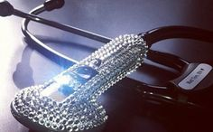 Dazzle your patients with some steth bling! #Nurses #Bling #Stethoscope