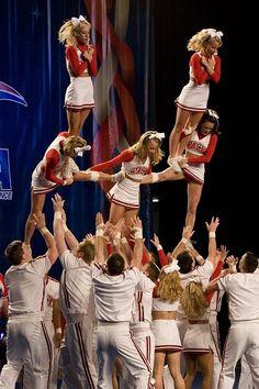 college cheerleader, cheerleading, stunts moved from Kythoni's Cheerleading: Collegiate board http://www.pinterest.com/kythoni/cheerleading-collegiate/ m.13.89 CHEER #KyFun