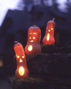 Ghostly butternut squash choirboys.