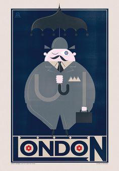 fat guy in london