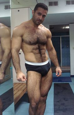 Fur on Muscle : Photo