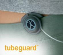 Tubeguard for insulin pump tubing