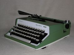 Mechanische Schreibmaschine Sperry Rand Remington 2000 mechanical typewriter