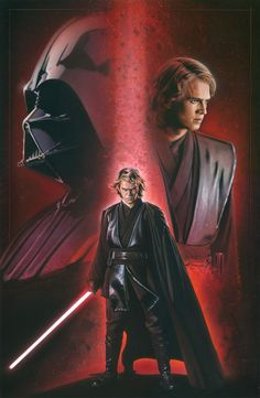 Anakin. He's still my favorite character, even though he is bad for a little while...