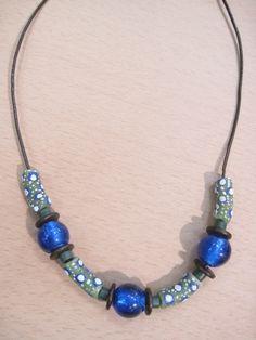 #necklace #handmade #jewelry #krobo