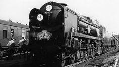 'Banned' Clan Line steam locomotive's return trip