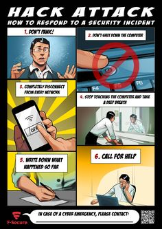 How to respond to a security incident Life Hacks Computer, Computer Basics, Computer Coding, Computer Help, Computer Internet, Computer Security, Computer Science, Android Security, Cyber Security Course